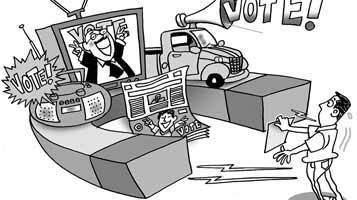 como hacer mensajes políticos